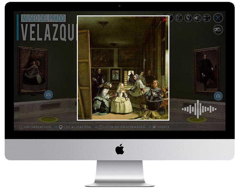 Visita Virtual Museo del Prado Meninas Velazquez