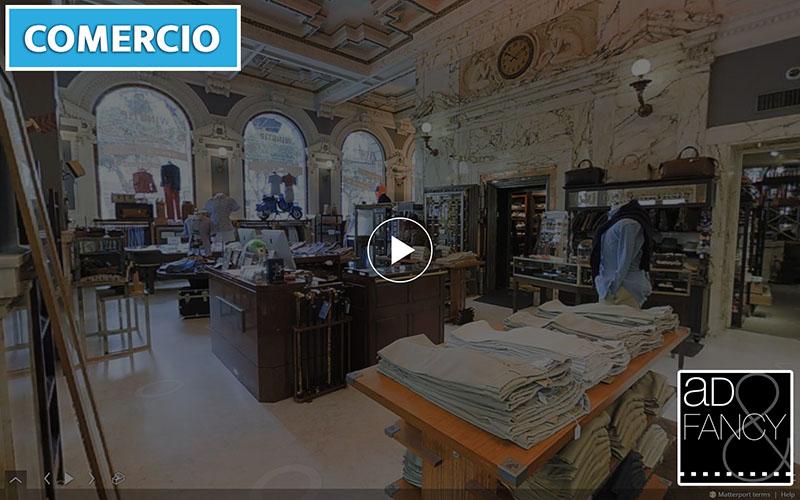 Matterport-espana-realidad-virtual-visita-virtual-3D-comercio